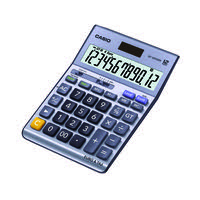 Casio Silver DF-120TERII Desktop Calculator DF-120TERII-S-EP