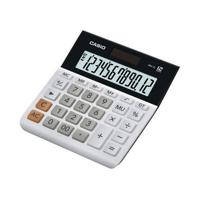 Casio 12-Digit Landscape Basic Function Calculator White MH-12WE