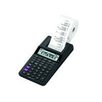 Casio HR-8RCE Printing Calculator Black HR-8RCE-BK-W-EC