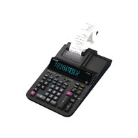 Casio 12 Digit Printing Calculator Black FR-620RE-B-UC