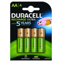 Duracell staycharged Premium AA4 rechargeable - 2400 Mah (Pack of 4) STAYCHARGED PREM