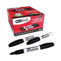 Show-me Teacher Drywipe Marker Black (Pack of 50) STM50