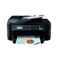 Epson WorkForce WF-2750DWF Multifunctional Colour Inkjet Printer Black C11CF76401