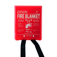 Fire Blanket Fibreglass 1000x1000mm FB110