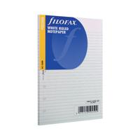 Filofax Personal Ruled White Paper (Pack of 30) 133008