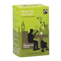 London Tea Pear Tatin White Tea Pack of 20 FLT19154