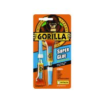 Gorilla Super Glue 3g Pack of 2 4044101