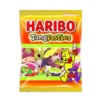 Haribo Tangfastics 140g Bag (Pack of 12) 14573