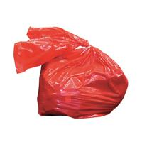 Laundry Soluble Strip Bags Red 80 Litre 457x711x965mm (Pack of 200) RSB/4