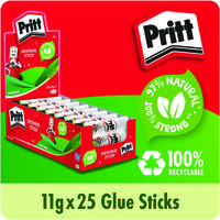 Pritt Stick 11g Display Box (Pack of 25) 1564149