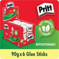 Pritt Stick Jumbo Glue Stick 90g (Pack of 6) 1479570
