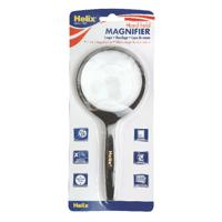 Helix Hand Held Magnifying Glass 75mm MN1020