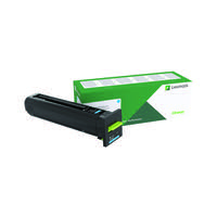 Lexmark CS820 CX82x CX860 Cyan Return Programme Toner Cartridge 72K20C0
