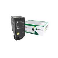 Lexmark CS720 CS725 CX725 Yellow Return Programme Toner Cartridge 74C20Y0