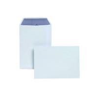 Plus Fabric C5 Envelopes Self Seal 120gsm White (Pack of 250) D23770