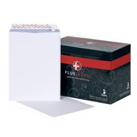 Plus Fabric C4 Envelope Pocket Peel and Seal 120gsm White (Pack of 250) K26739