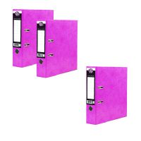 Concord IXL Selecta Lever Arch File A4 Pink Get 3 for the Price of 2 (Pack of 20 + 10) JT816006