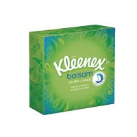 Kleenex Balsam Mansize Compact Tissues 50 Per Pack (Pack of 12) 3990093