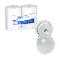 Scott Control Toilet Tissue 2Ply 314m White (Pack of 6) FOC Control Toilet Tissue Dispenser KC832089