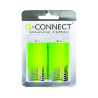 Q-Connect D Battery (Pack of 2) KF00491