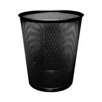 Q-Connect Waste Basket Mesh 18 Litre Black KF00871