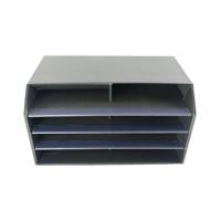 Q-Connect Mail Sorter Black (495 x 315 x 280mm) KF01039