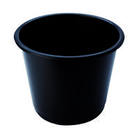 Q-Connect Waste Bin 15 Litre Black CP025KFBLK