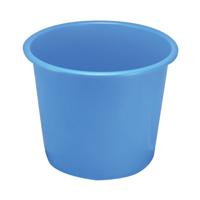 Q-Connect Waste Bin 15 Litre Blue CP025KFBLU