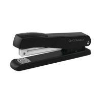 Q-Connect Full Strip Metal Stapler Black KF01231