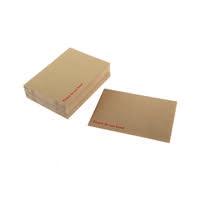 Q-Connect Board Back C3 Envelope 458x324mm 115gsm Manilla Peel and Seal (Pack of 50) KF01409