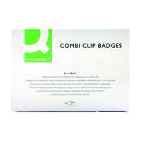 Q-Connect 54x90mm Combination Badge (Pack of 50) KF01567