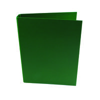 Q-Connect 2 Ring 25mm Polypropylene Green A4 Binder (Pack of 10) KF02004