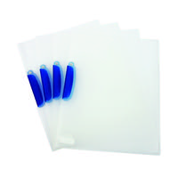 Q-Connect Clear A4 Swivelclip Files (Pack of 25) KF02138