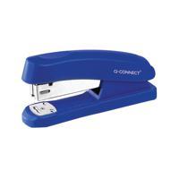 Q-Connect Half Strip Plastic Stapler Blue KF02151