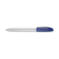 Q-Connect Medium Blue Stick Ballpoint Pen (Pack of 20) KF02458