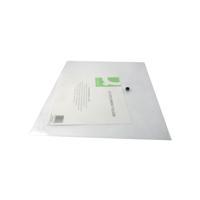 Q-Connect A3 Clear Polypropylene Popper Folder Pack of 12 KF02464