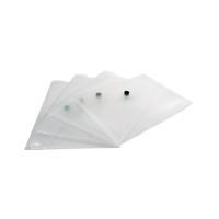 Q-Connect A5 Clear Polypropylene Popper Folder (Pack of 12) KF02470