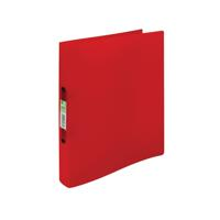 Q-Connect 2 Ring Binder Frosted A4 Assorted (Pack of 12) KF02488