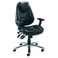 Avior Calabria Leather Look Operator Chair KF03434
