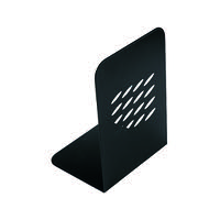 Q-Connect L-Shaped Metal Bookend (Pack of 2) KF03900