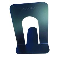 Q-Connect Stepped Metal Bookend (Pack of 2) KF03901