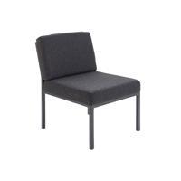 Jemini Reception Charcoal Chair KF04010