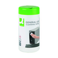 Q-Connect General Use Cleaning Wipes (Pack of 100) KF04508