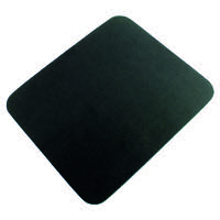 Q-Connect Black Economy Mouse Mat