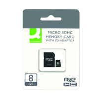 Q-Connect 8GB Micro SD Card Class 10 KF16011
