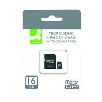 Q-Connect 16GB Micro SD Card Class 10 KF16012