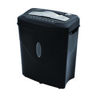 Q-Connect Cross Cut Paper Shredder Q10CC2 (Shreds 10 sheets of 75gsm paper in one pass) KF17975