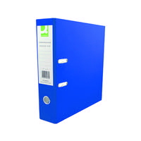 Q-Connect Blue Polypropylene A4 Lever Arch File (Pack of 10) KF20020
