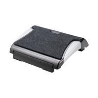 Q-Connect Ergonomic Footrest Black/Silver KF20075