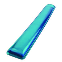 Q-Connect Clear Gel Wrist Rest Blue KF20088